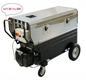 מכונת שטיפה MASTER מים חמים200 בר/ 30 ליטר לדקה-מנוע חשמלי